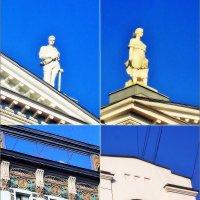 Невский проспект, украшения фасадов :: Фотогруппа Весна.