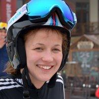 Лыжница. :: Anna Gornostayeva