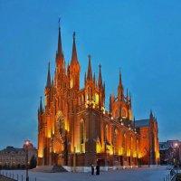Католический собор Непорочного зачатия Пресвятой Девы Марии :: Евгений Голубев