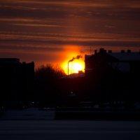 Закат в Риге :: Сергей Сабитов