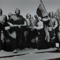 Заснеженные скульптуры -2 :: Александр Витебский