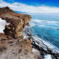 Лёд, скалы, трещины :: Анатолий Иргл