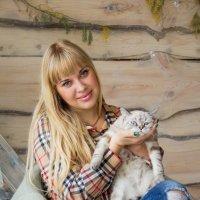 С котиком :: Ирина Белоусова