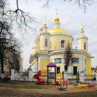Свято-Троицкий собор города Подольска.(14.04.2016) :: Николай Мальцев
