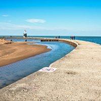 Пирс на озере Мичиган :: Лёша