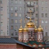 Храм Николая Чудотворца на Берсеневке :: Константин Фролов