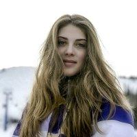 Кристина - горнолыжница :: Александр Рейтер
