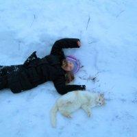 Повалюшки на снегу :: Ольга Алеева