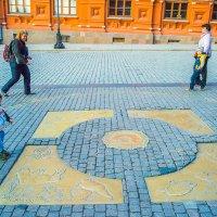 Москва, Центральная точка России. Монетка на счастье. :: Игорь Герман