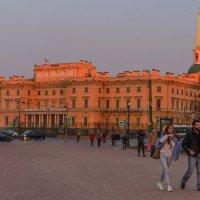 Инженерный замок на закате :: Ирина Глобина