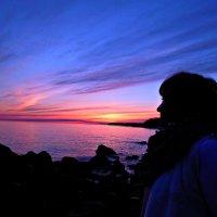 Закат над Ладогой :: Геннадий Рублёв