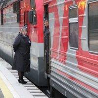Поезд отправляется. :: Larisa Gavlovskaya