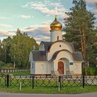 Святые врата в ограде Спао-Елеазарова монастыря. :: Олег Попков