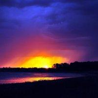 Пленительный закат :: Анастасия Циулина