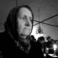 баба Настя, уже не с нами... :: Михаил Зобов