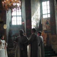 Новоспасский монастырь. Божественная Литургия :: Михаил Зобов