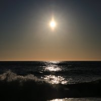 Солнце перед закатом :: valeriy khlopunov