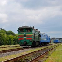 На дальней станции сойду... :: Валентина Данилова