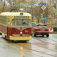 Старый трамвай (1 ) :: Александр Запылёнов