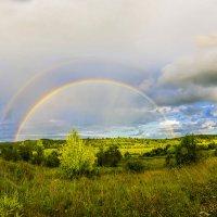 Радуга и дождь. :: Дмитрий Царапкин
