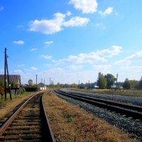 На дальней станции сойду... :: Катя Бокова