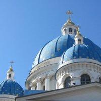 Купола Троице-Измайловского собора :: Маера Урусова