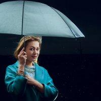 Под моросящим дождичком. :: Kassen Kussulbaev