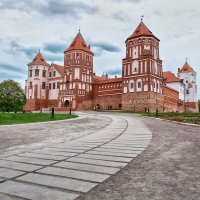 Мирский замок :: Олег Князев