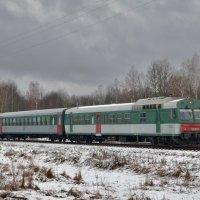 Автомотриса АЧ2-095 :: Денис Змеев