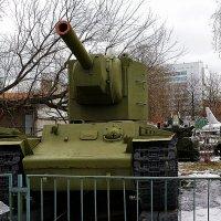 Немцы называли его Монстром... Тяжёлый штурмовой танк КВ- 2 (Климент Ворошилов) :: Владимир Болдырев