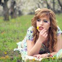 Девушка-весна :: Ksenia Shelkova