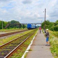 Куда уходят поезда? :: Валентина Данилова