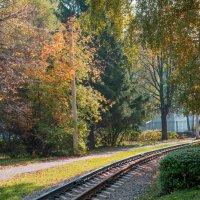 Детская железная дорога :: Виктор Куприянов