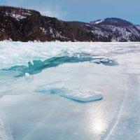 Лёд и наледь :: Анатолий Иргл