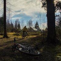 Весенний заезд на велосипедах :: Анна Новикова
