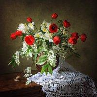 Весенний цветочный натюрморт :: Ирина Приходько