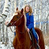 Фото  с лошадкой :: Ольга Сусанова