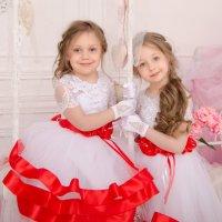 Две сестрички :: Александра Крюкова(Самойлова)