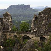 Бастайский мост в Саксонской Швейцарии :: Ирина Лепнёва