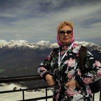На высоте 2320 м. На Роза Хутор. :: Алла ************