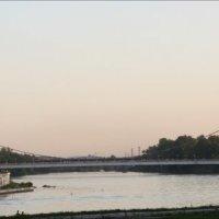 Панорама  города Пенза. Река Сура. :: Валерия  Полещикова
