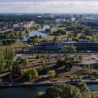 Минск. Панорама с Национальной библиотеки :: Lika Jena