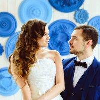 свадьба в синем :: Анюта Болтенко