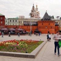 В самом центре Москвы :: Владимир Болдырев