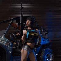 Action girl. :: Андрей Липатов
