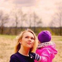 Мама и доченька :: Юлия Фотограф