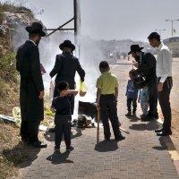 сжигание квасного(שריפת חמץ)«Израиль, всё о религии...»2 :: Shmual Hava Retro