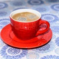 Утренний кофе :: Юрий Бичеров