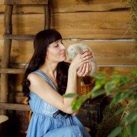 Красавица Евгения в рамках пасхального проекта :: Светланка Д