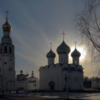 Весенний вечер на Кремлевской площади :: Наталья Кузнецова